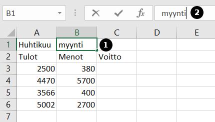 Lukujen Kirjoittaminen